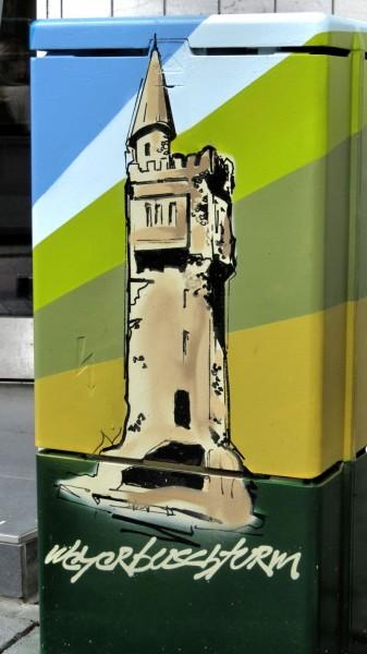 Streetart Weyerbuschturm